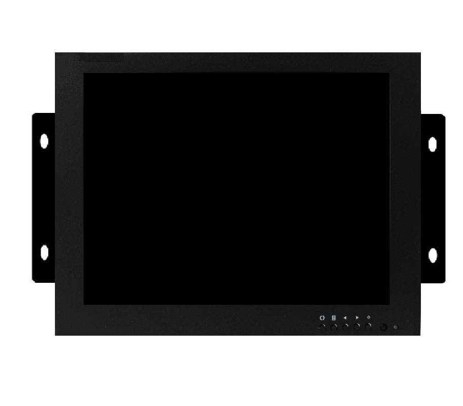 9 inch industriële metalen monitor security LCD CCTV lcd led monitor