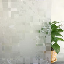 Removable Glueless Decoration Frosted Static Cling Window Film