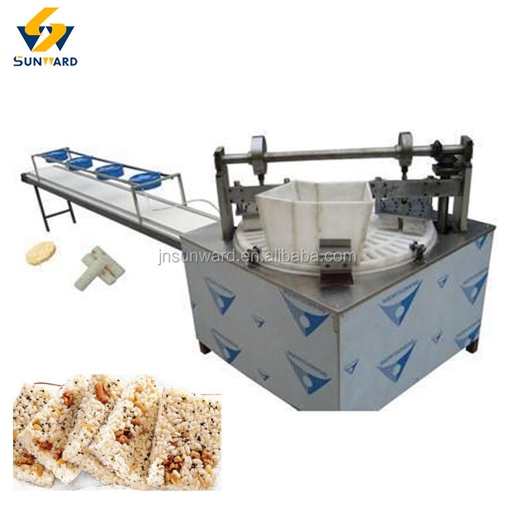 Venta caliente bola de arroz cereal bar machine