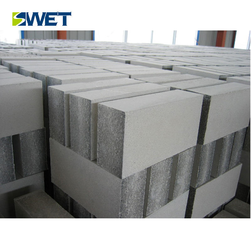 Silicon aluminum carbide refractory brick with a brick customized shape