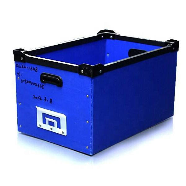 33cm*33cm*33cm Accept Custom Order and foldable plastic box/ Plastic Material corrugated plastic collapsible box