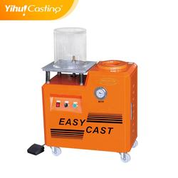 Yihui brand 4L mini casting machine work with melting furnace and vacuum pump