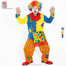 Funny Stage Show Carnival New Year Cosplay Clown Clothes Costume Suit