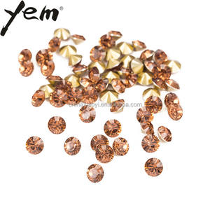 Yem brand synthetic surat diamond rhinestone acrylic glass crystal resin stone jewelry garment nail art bag accessories