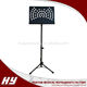 Best musical instrument supplier heavy sheet music stand folding reading book stand