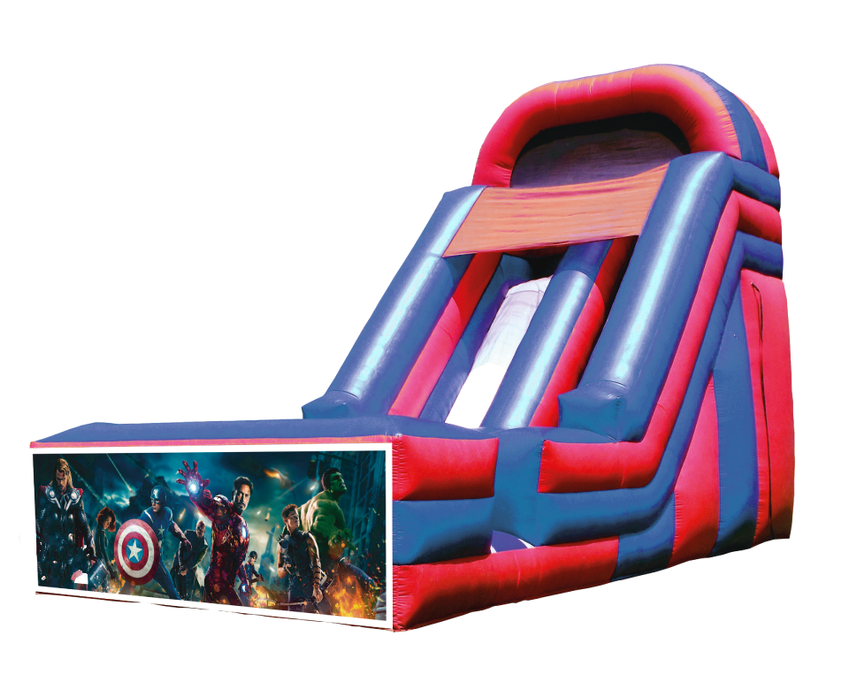 The new factory to figure processing custom theme series inflatable slides
