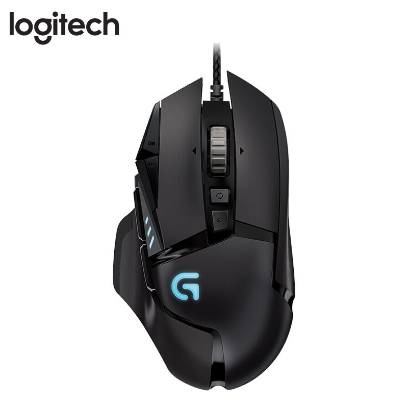 <span class=keywords><strong>100</strong></span>% originale Per Logitech Gaming <span class=keywords><strong>Mouse</strong></span> all'ingrosso G502 Eroe Ad Alte Prestazioni Wired <span class=keywords><strong>Mouse</strong></span> Da Gioco fornitore
