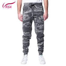 2018 Hot China Fitness Cargo Camo Gym Jogger Pants For Mens