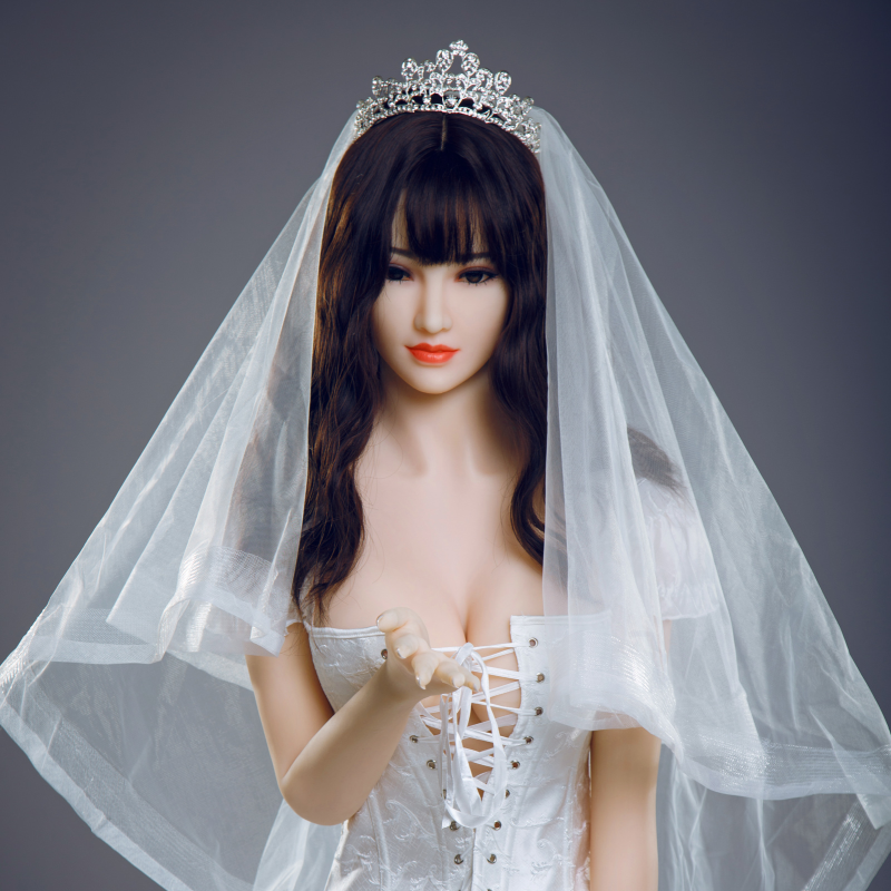 Online buy a silicone sex doll realistic bride model wife as a new year gift for friend boyfriend husband