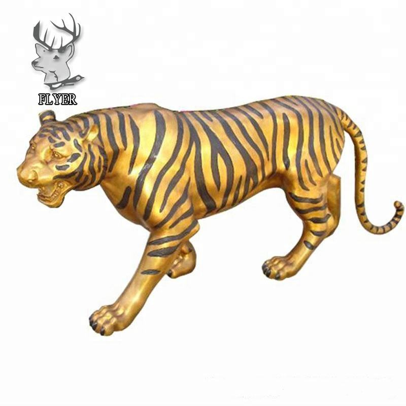 <span class=keywords><strong>Park</strong></span> dekoration lebensgroße Guss <span class=keywords><strong>Messing</strong></span> Tiger Statue