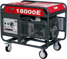 Best Quality 18kv high quality gasoline generator hand start groupe electrogene