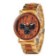 Multi color Men Wood Watch with stylish dial design Quartz Watches