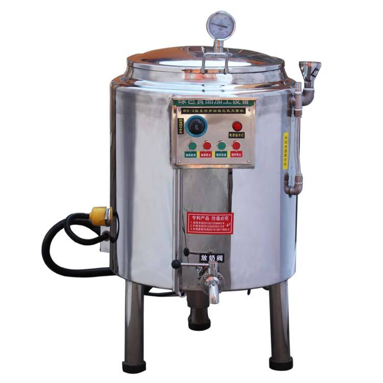 10l 50l home small industrial homogenizer mini milk pasteurizer machine price
