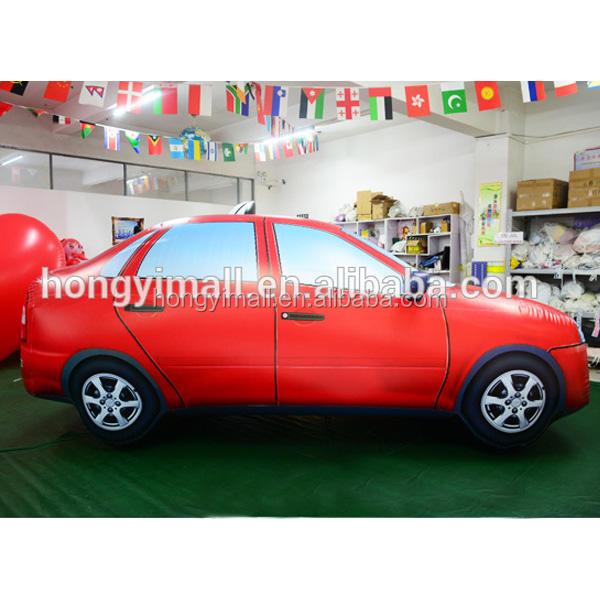 Vente chaude publicité gonflable pvc gonflable de voiture divers voiture ballon réplique pour exposition