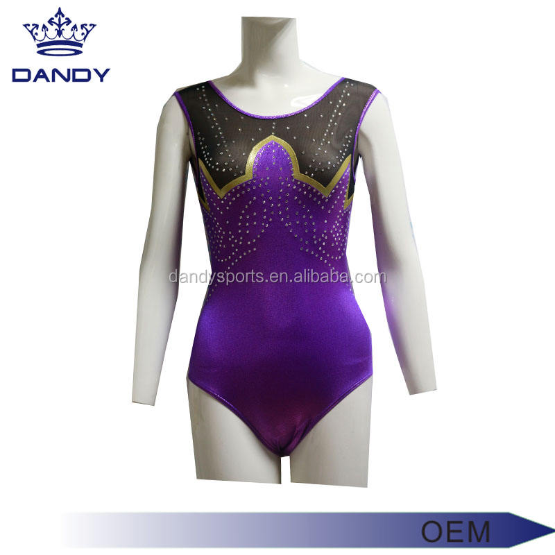 Hot girls Girls Gymnastics Dance Leotards kids gymnastic dance wear wholesale price