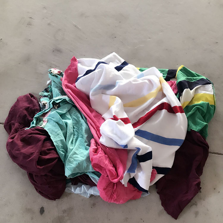 Hot Selling Used Color Cotton Rags with Manufacturers' Price