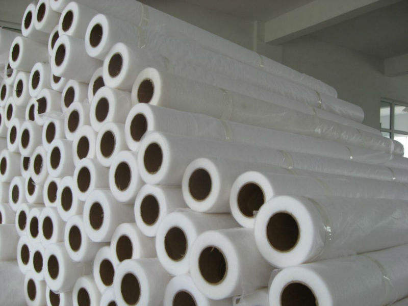 Polyamide hot melt adhesive web/double side fusible interlining