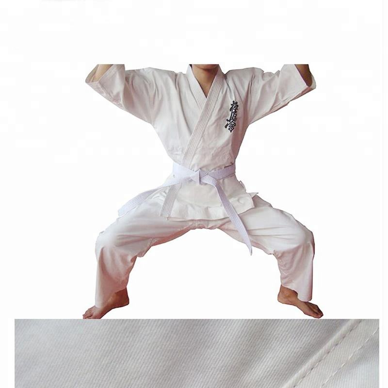 Heavyweight Kyokushin Karate Gi cheap karate kimono uniform karate suit