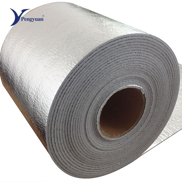 Aluminum Foil Foam Insulation Reflective Foam Insulation Aluminum Foil Facing Roll Pe Foam Thermal Insulation