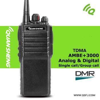 Neue Design TDMA 2 Slots 32 Kanäle Handheld Professionelle <span class=keywords><strong>Vhf</strong></span> uhf digitale Radio Wasserdicht DMR Zweiwegradio