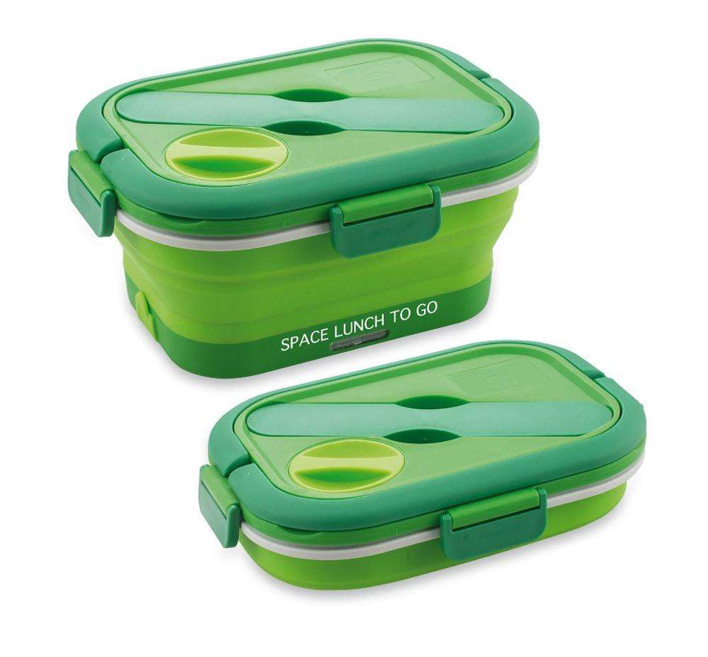 Hot sale electric silicone foldable lunch box