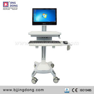 Newest Modern Hospital Mobile Medical mobile computer/laptop workstation
