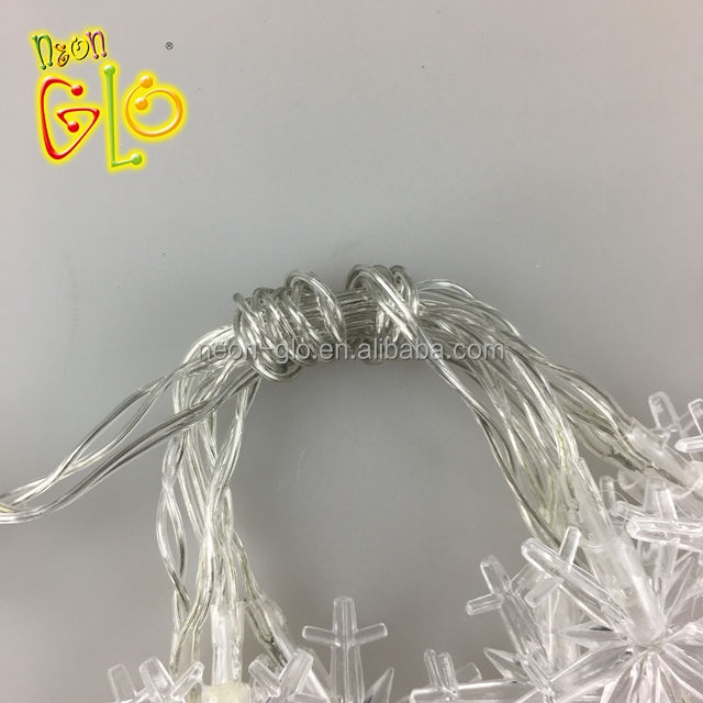 Luz LED String para Festa de Natal Do Floco de Neve por atacado
