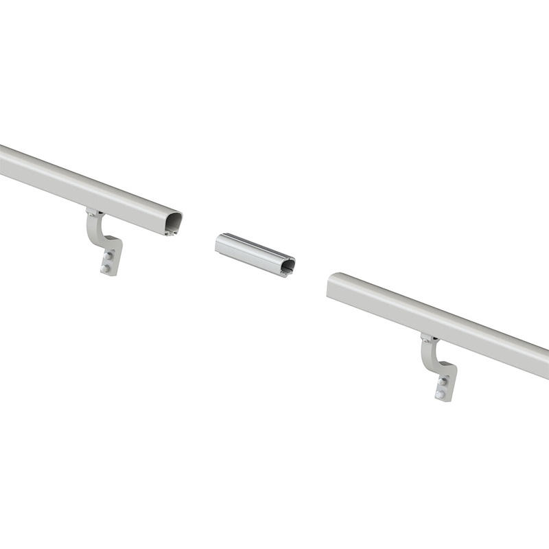aluminum pipe handrail for stairs