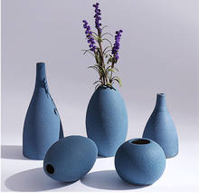 2019 new arrival high quality handmade ceramic vase two colors
