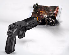 Game gun controller ipega game controller 9057 With Bluetooth Gun For Ipad/Iphone/ Android phones game controller