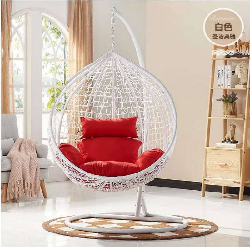 2018 high quality hanging chair/ rattan egg hanging chair/ wicker hanging egg chair