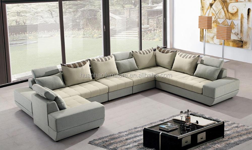 Moderno Rumania elegante sofá muebles de la Sala setS09