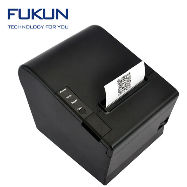 FUKUN Hot Sale 80mm POS Thermal Receipt Printer WITH usb interface