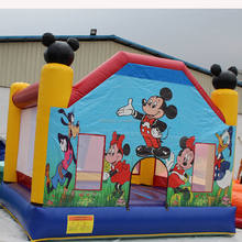 Hot sale Mickey mouse  inflatable bounce house clubhouse for sale
