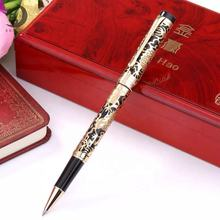 JJXDG-010 Manufacture Wholesale 2D  hollowed-out work Dragon  barrel luxury heavy metal roller pen/fountain pen
