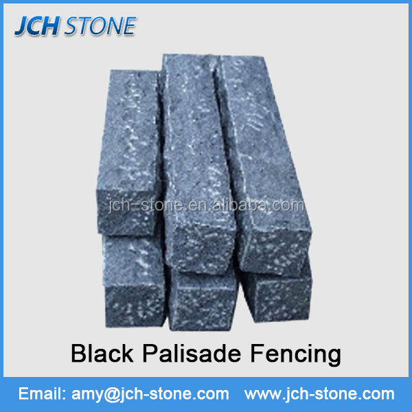 Nature granite stone palisades garden landscaping stone