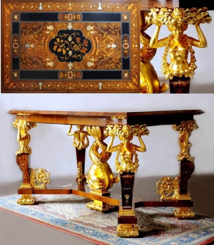 Golden Mannerist Table