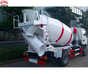 FOTON Concrete Mixer Truck with pump 4m3 factory price