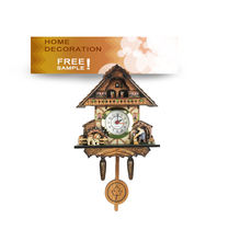 Wooden cuckoo clock kit low price cuckoo wall clock