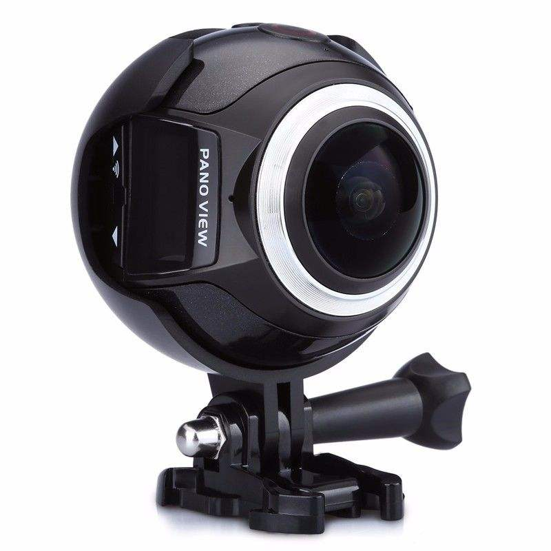 original factory 360 Sport Action Camera VR 360 Degree camera 4K Waterproof Video Cam Dual Lens