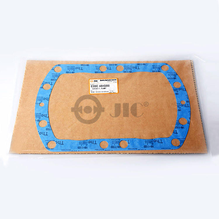JIC Pump Gaskets For HITACHI Excavator E330C Spare Parts 177-2524 A8VO200 Hydraulic Mercury Mazda Gasket Set