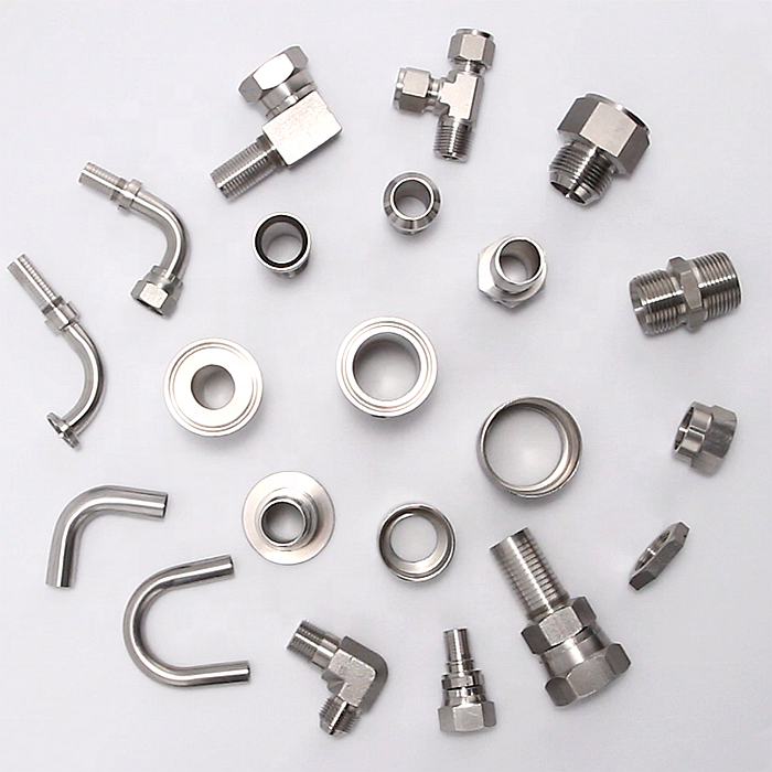 China Custom Stainless Steel Swivel hose hydraulic components