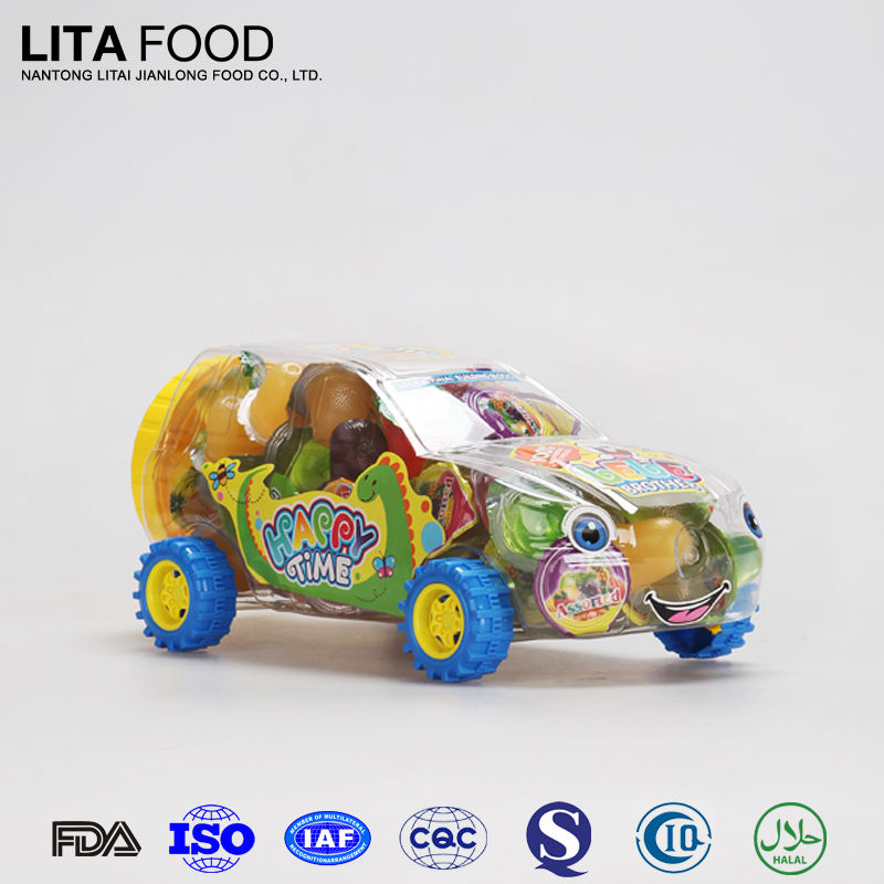 新しいおもちゃの車のためのお菓子タイココナッツ15gゼリー