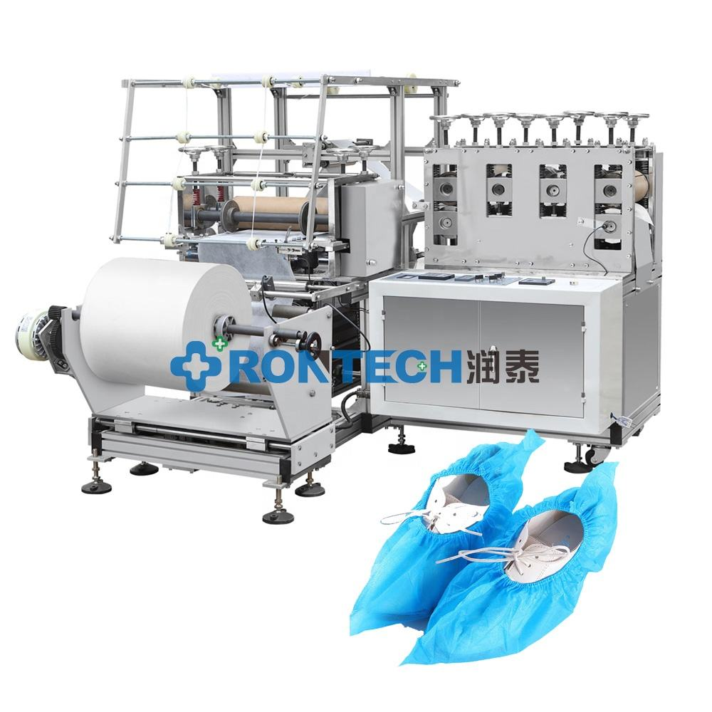 Automatic Surgical Non Woven Shoe Cover Making Machine