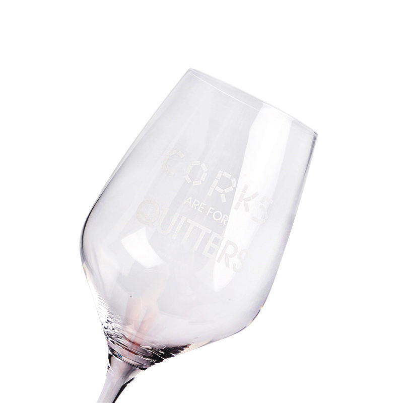 W388 Top Sale Factory Price Customization Antique Silver Wine Glass