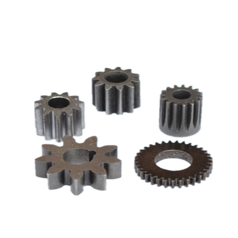 Drawing customized machine use parts steel roller helical small circular rack gear crown wheel and pinion