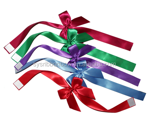 pre made birthday gift wrapping ribbon bow