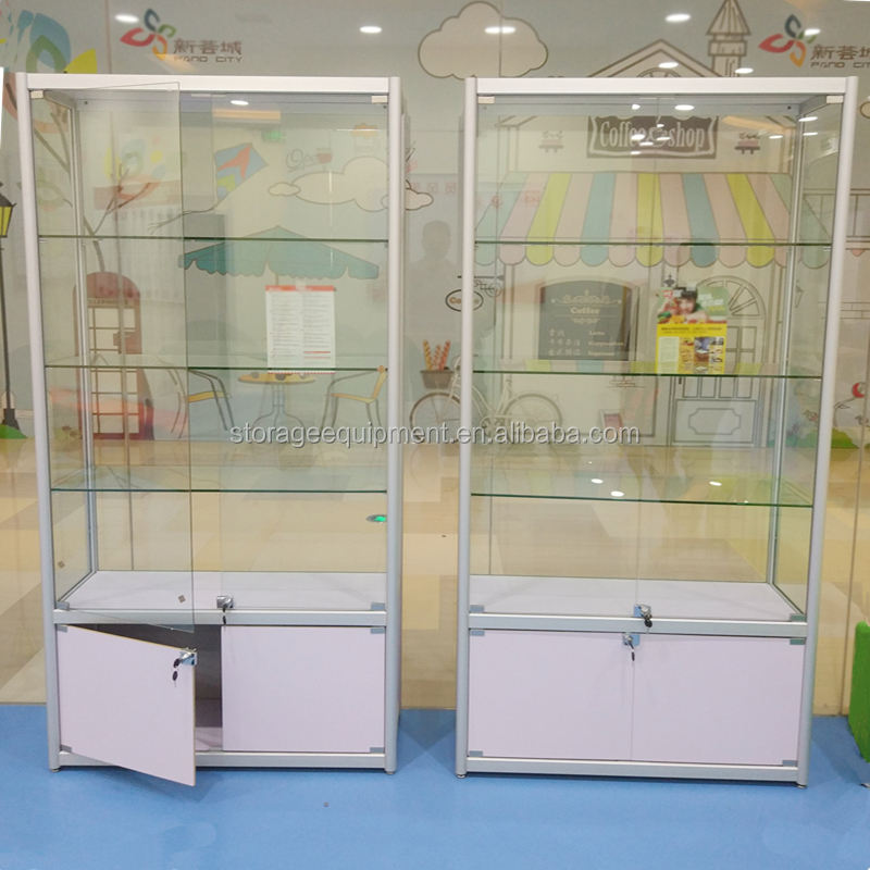 2018 Newest glass display cabinet&jewelry display cabinet