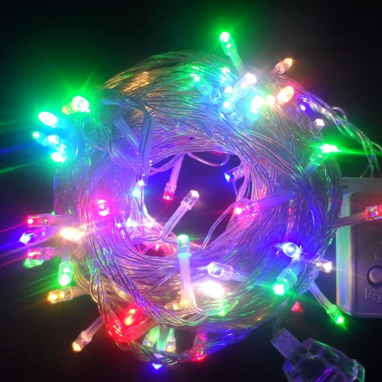 factory outlets 220V color changing outdoor christmas led string lights