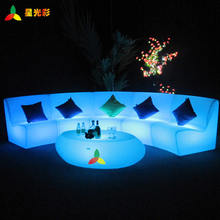 night club lighting illuminated led table led square table led flashing table